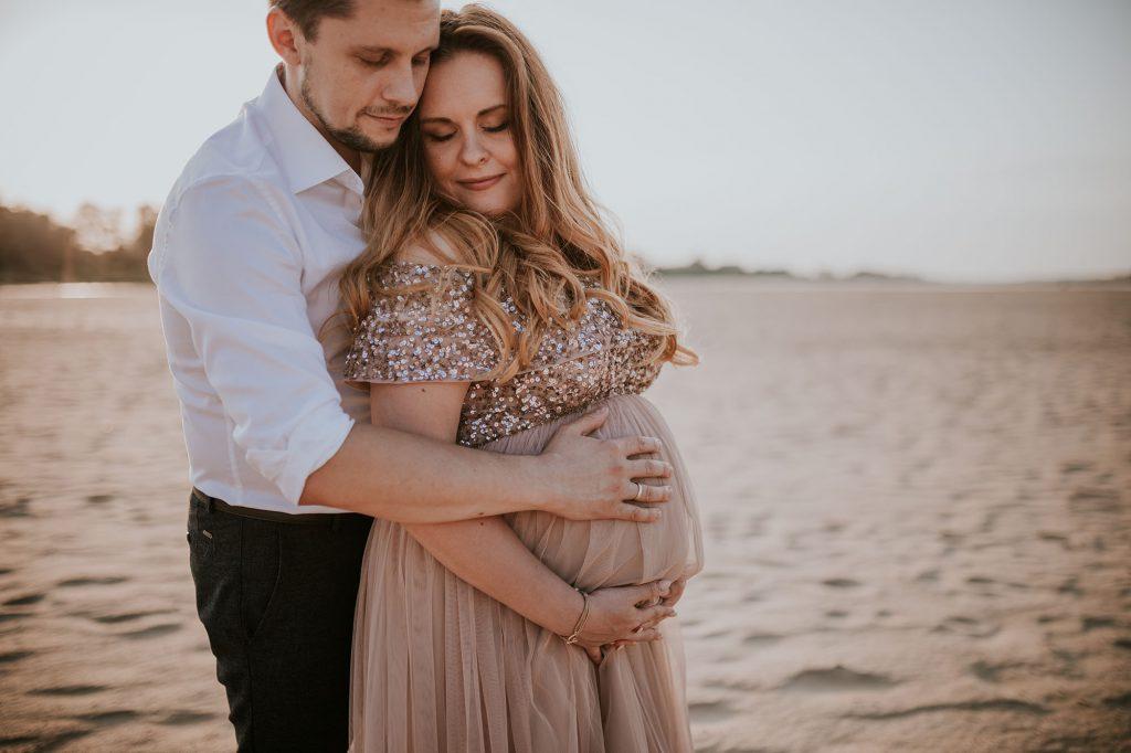 sesja ciążowa warszawa ciszyca wyspy świderskie