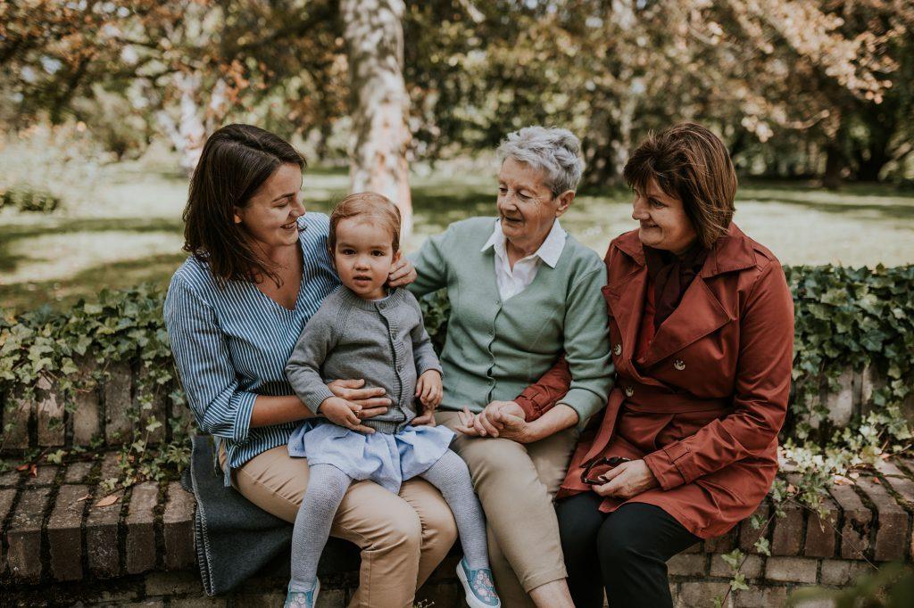 sesja pokoleniowa cztery pokolenia kobiet żelazowa wola