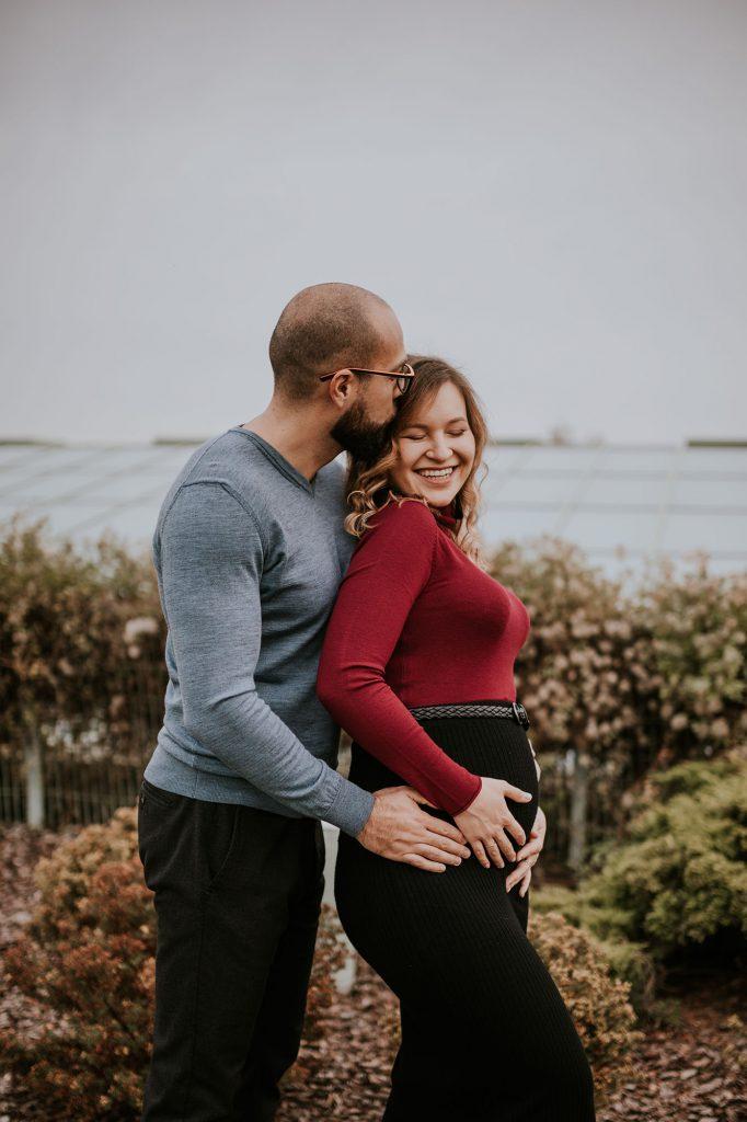 jesienna sesja ciążowa warszawa buw