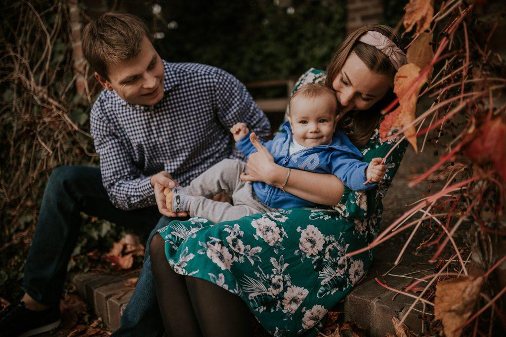 jesienna sesja rodzinna Żelazowa Wola