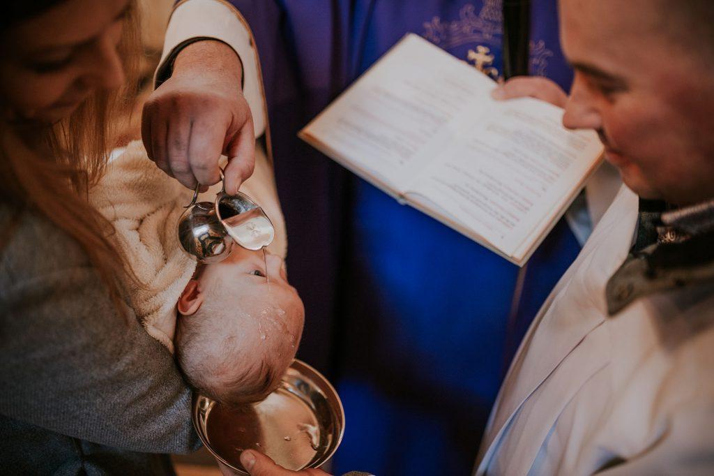 chrzest płońsk reoprtaż chrztu